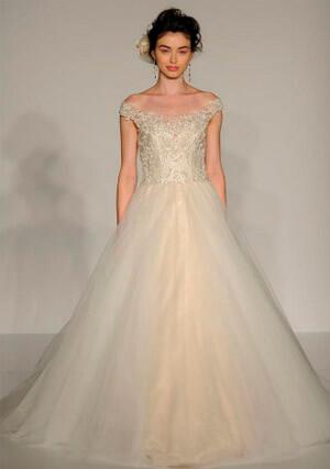Фото: Пышные свадебные платья: Песочные часы