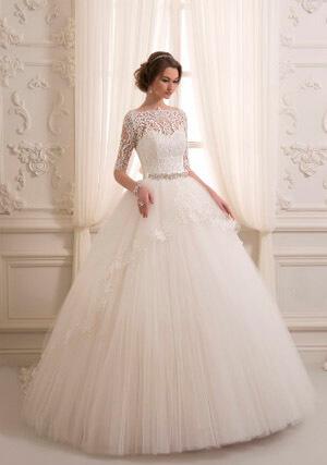 Фото: Бальное пышное свадебное платье
