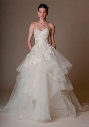Фото 7: Пышные свадебные платья: фото модных моделей 2016