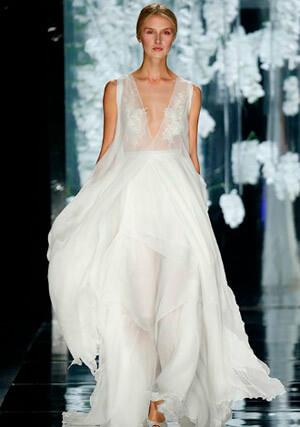 Фото 9: Пышные свадебные платья: фото модных моделей 2016