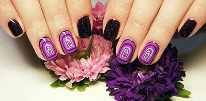 Дизайн ногтей шеллаком - фото новинки