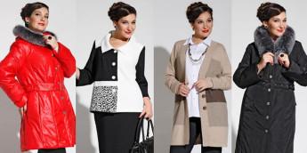 Модная верхняя одежда для полных осень-зима 2015-2016