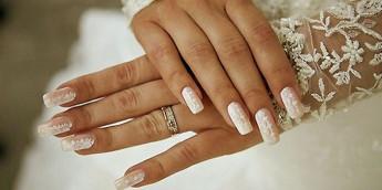 Модный свадебный маникюр 2016