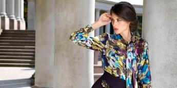 Модные блузки и женские рубашки весна-лето