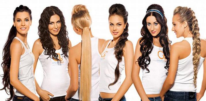 Наращивание волос - процедура и технологии