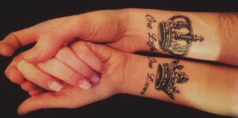 Татуировки на запястье 2016: свежие идеи