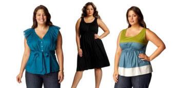 Одежда для полных - Как скрыть недостатки фигуры