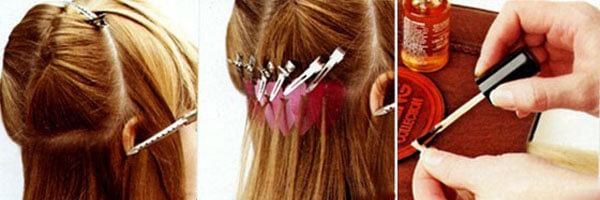 Испанская технология наращивания волос