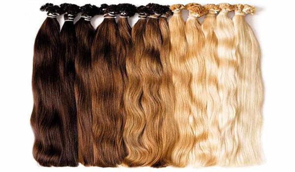 Наращивание волос - Локоны