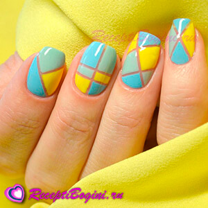 дизайн ногтей геометрия 2016 фото новинки