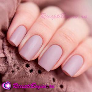 Фото: Матовый весенний дизайн ногтей 2016
