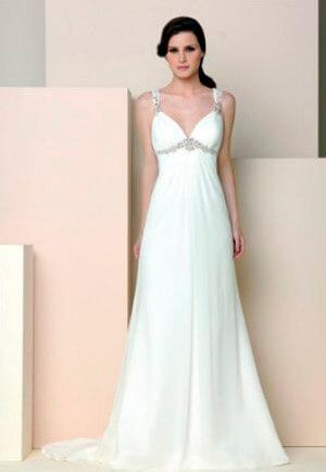 Фото: Греческое свадебное платье: кому идет