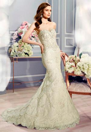 Фото: Свадебное платье русалка