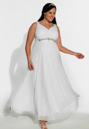 Фото: Свадебные платья для полных