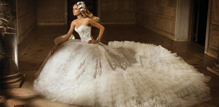 Пышные свадебные платья: модели, фасоны, цвета, фото