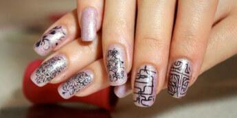 Стемпинг для ногтей, как пользоваться