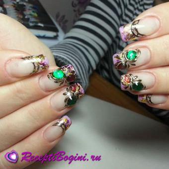 Дизайн ногтей литьё