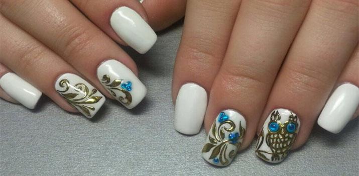 Литьё на ногтях: фото
