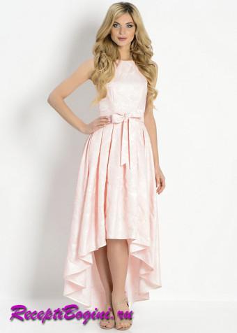 Платье миди на выпускной