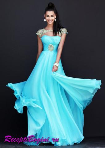 Длинные платья в пол на выпускной