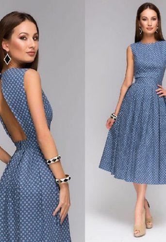 платья модные осенью